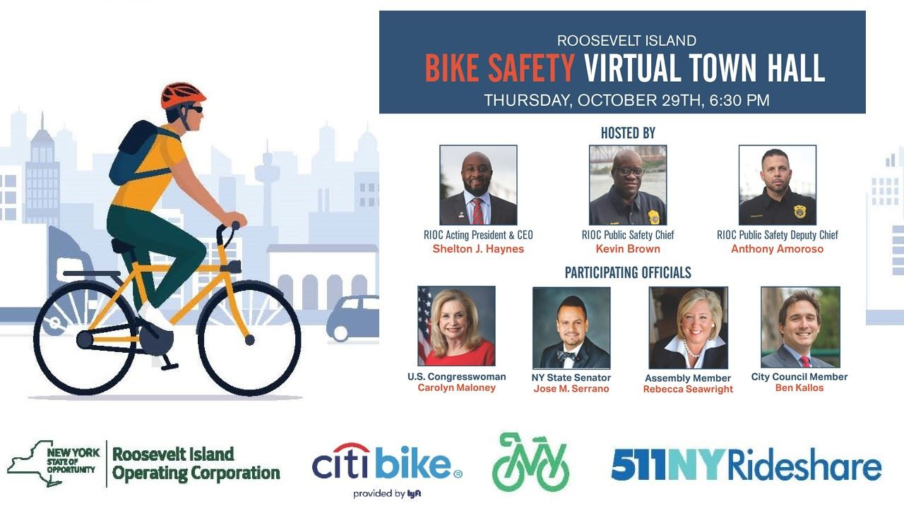 Bike Safety Virtual Town Hall Presentation Intro