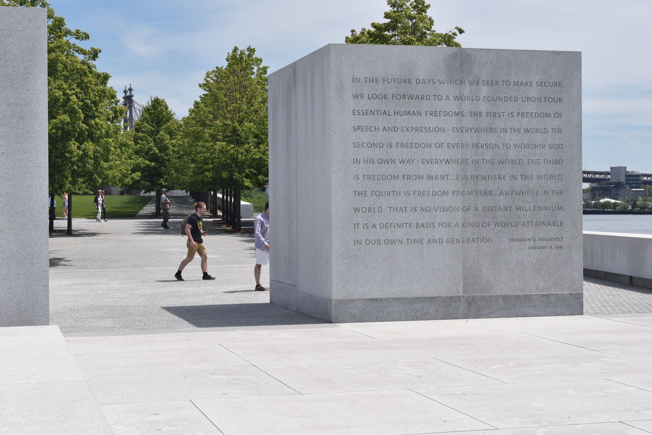 FDR Four Freedoms State Park 4