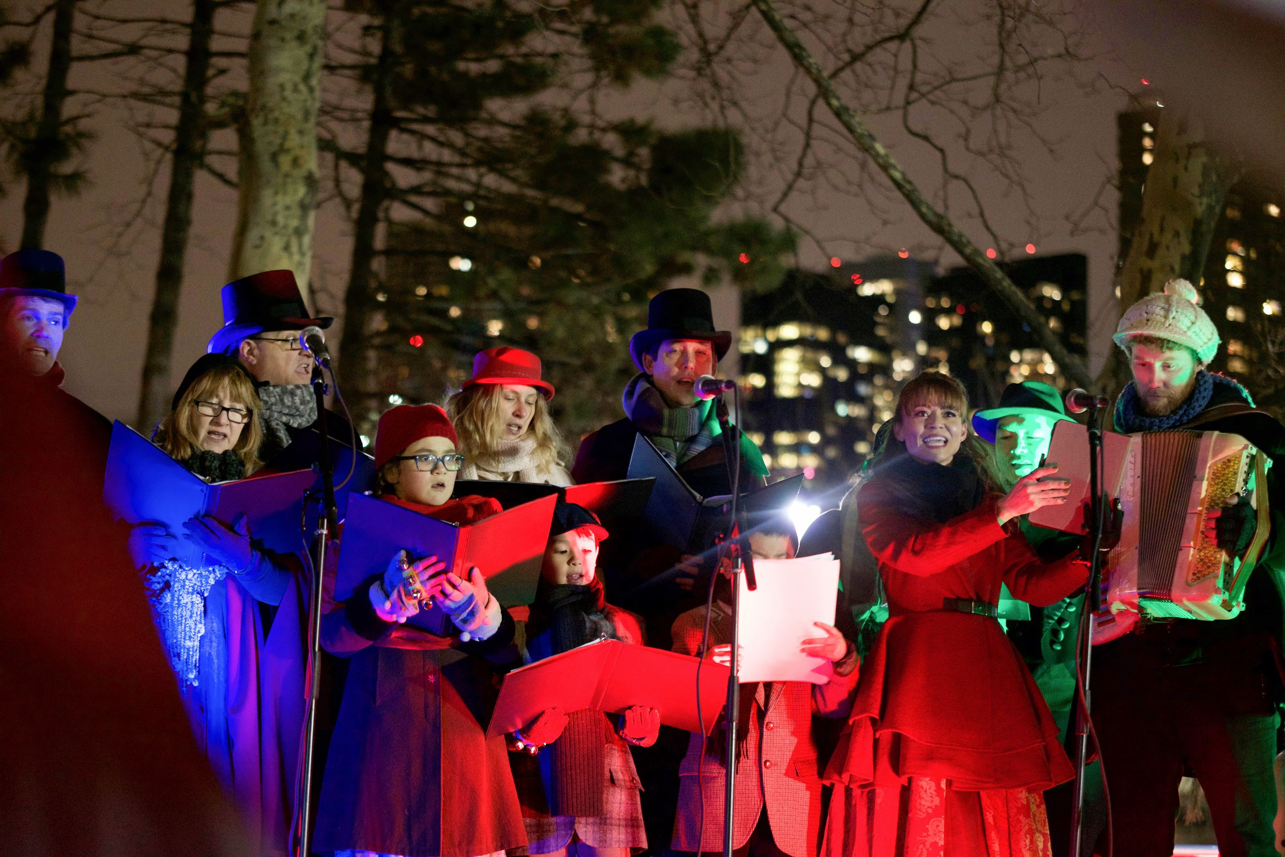 Carolers on Stage (4)